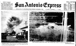 >November 13 in San Antonio history...