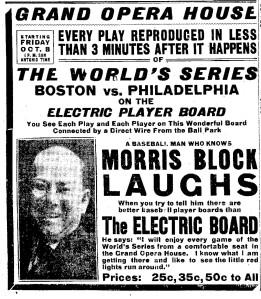 world series 7Oct1915