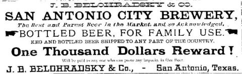 City Brewery - 1884