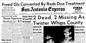 San Antonio Express, 29 April 1953