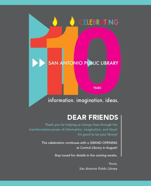 Happy 110th birthday San Antonio Public Library!