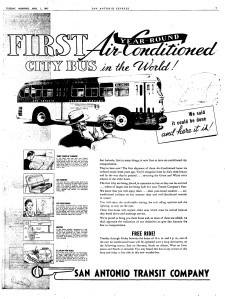 air-conditioned buses