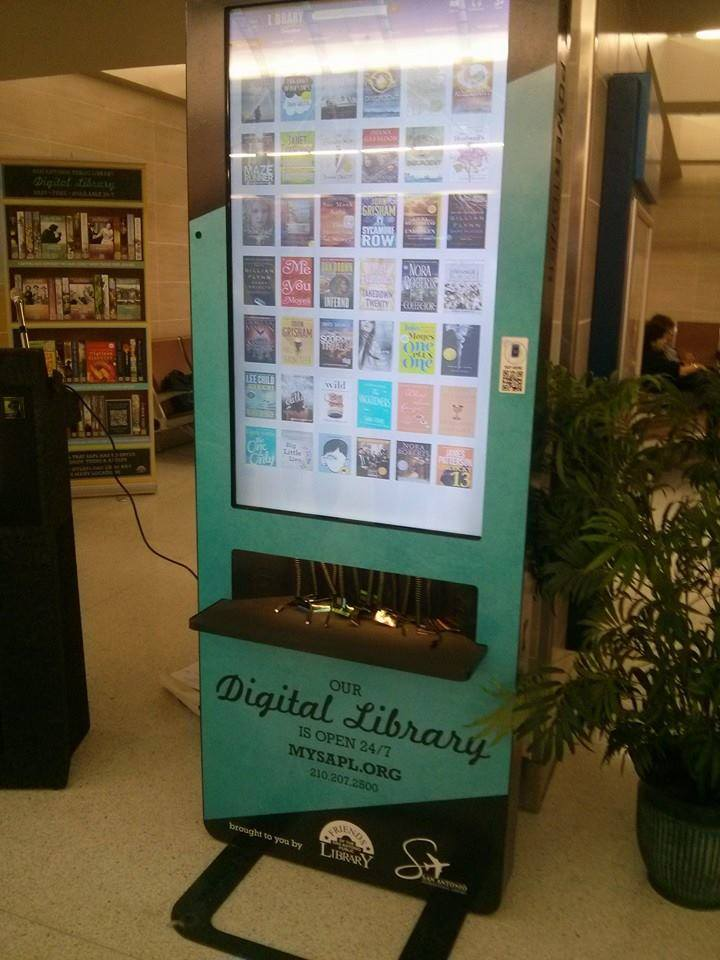 Digital Library Kiosk at the Airport 3