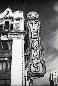 Texas Theater marquee