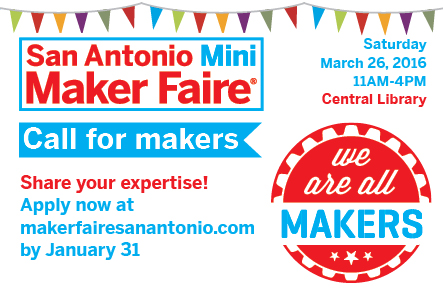 SA Maker Faire call for makers